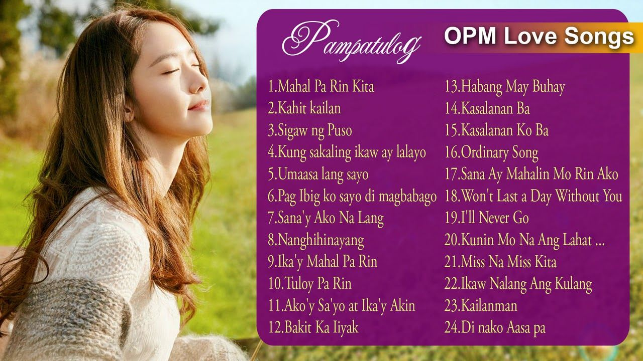 opm tagalog love songs collection 2018 best opm love songs 80s 90s