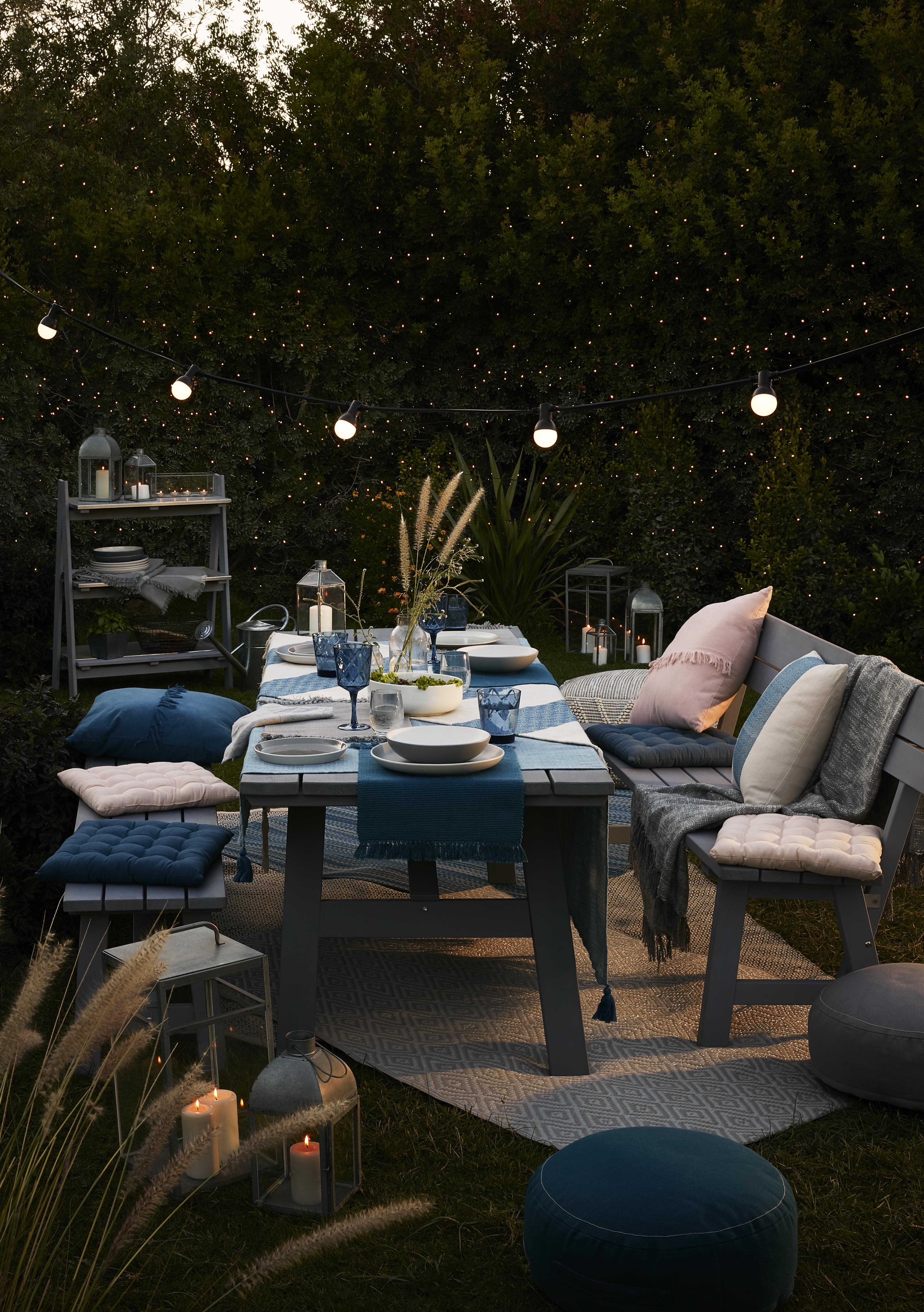 B&Q's NEW Rural outdoor collection can take you from day