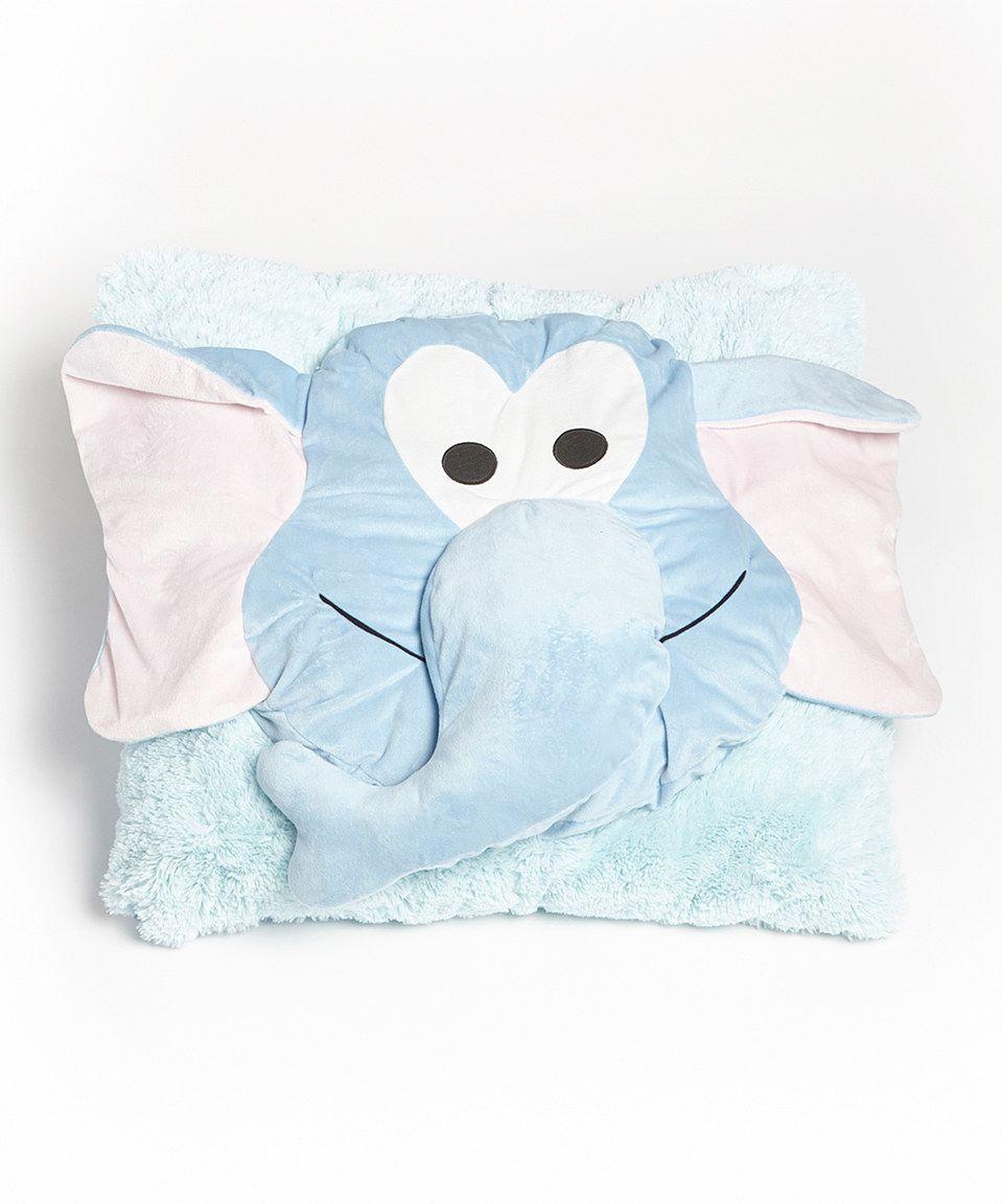 Loving this Elephant Floor Cushion on #zulily! #zulilyfinds