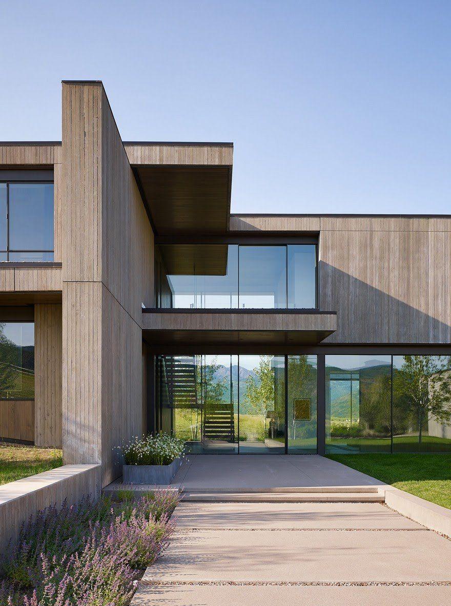 Mountain Modern House in Colorado Robbins