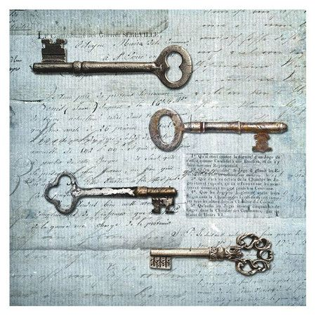 I pinned this Keys Wall Art I from the Walls of Whimsy event at Joss and Main!
