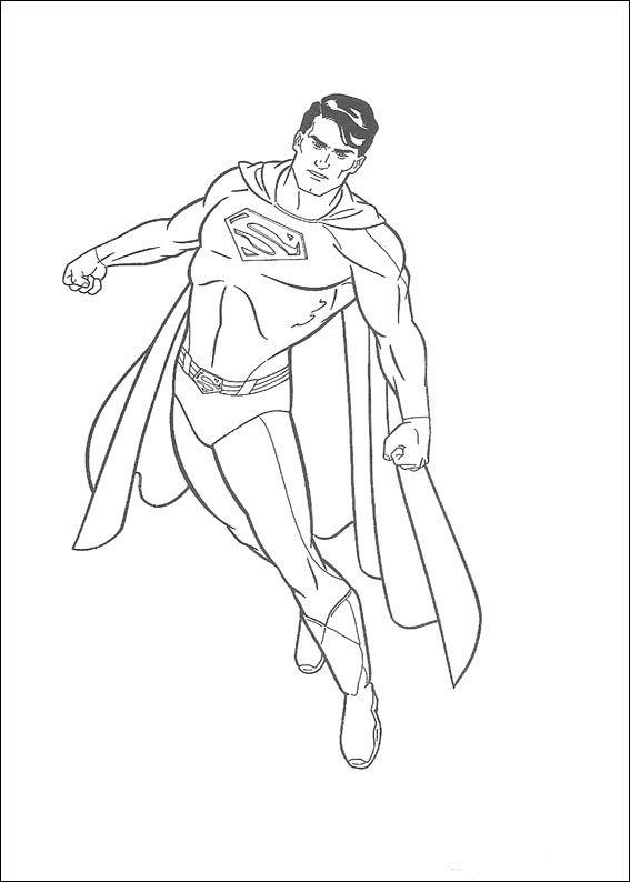 Dibujos Para Colorear Superman 20 Con Imagenes Dibujos Para