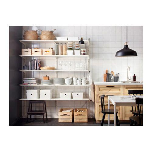 algot wall upright shelf and hook ikea home kitchen pinterest cremaillere tablette et. Black Bedroom Furniture Sets. Home Design Ideas