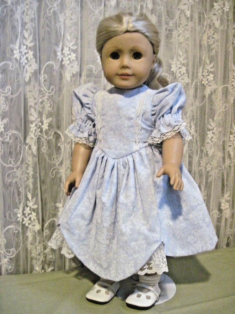 Handmade party dress for American Girls or other 18\