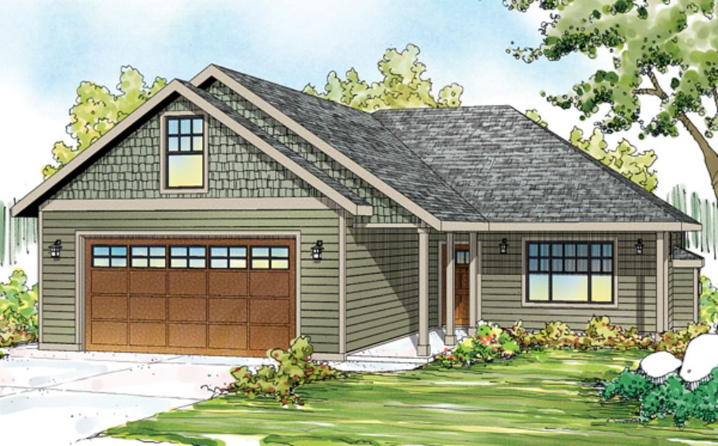Ranch Style House Plan 3 Beds