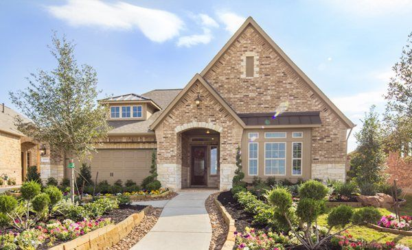 cinco ranch patio homes champions collection by village builders a rh pinterest com