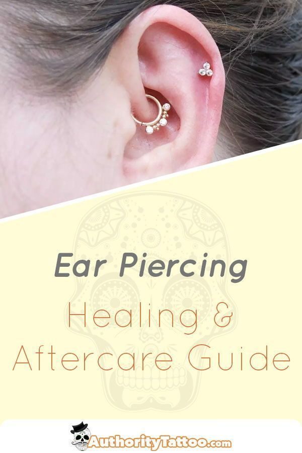 We explain every little detail about the ear piercing healing process including  We explain every little detail about the ear piercing healing process including everythin...