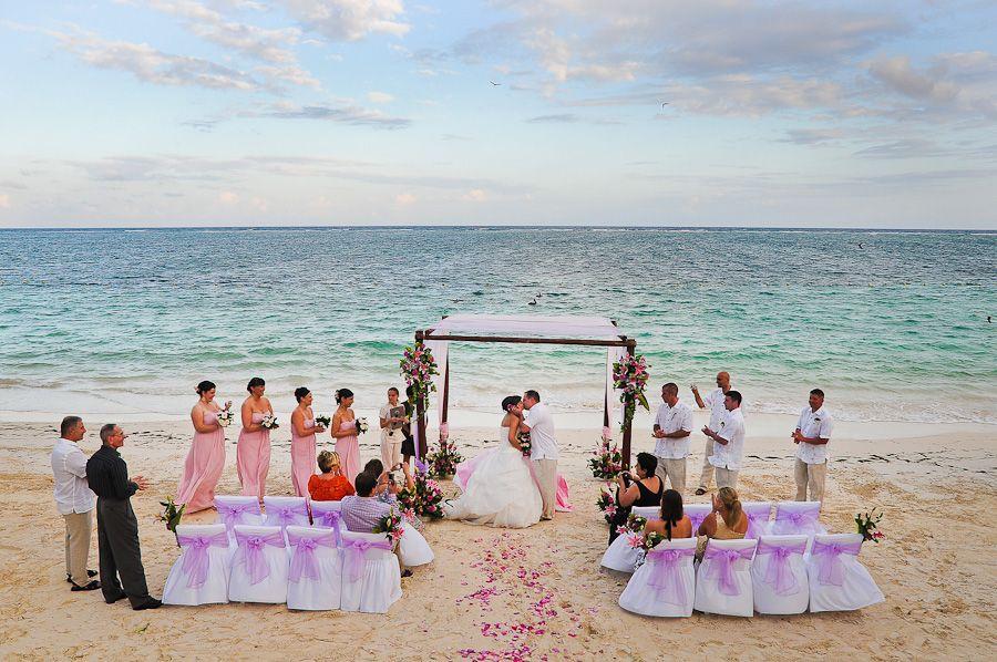 small beach wedding ceremony ideas%0A Azul Beach Wedding  Linda Mattingly
