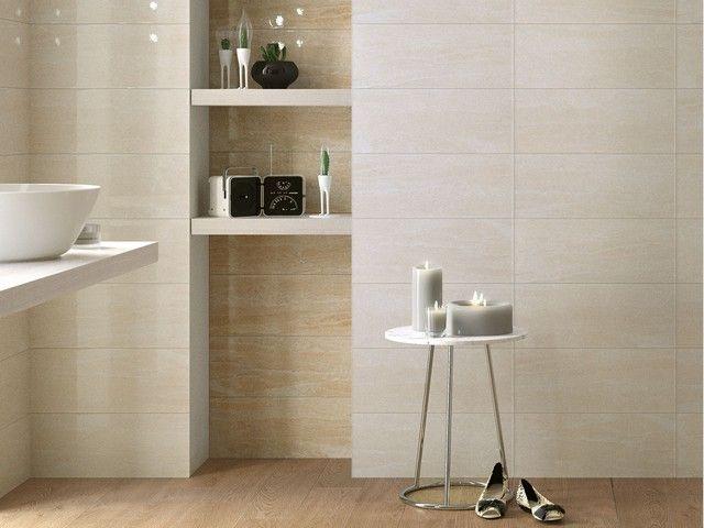Rivestimento bagno effetto marmo tivoli iperceramica gres porcellanato pinterest - Bagno effetto marmo ...