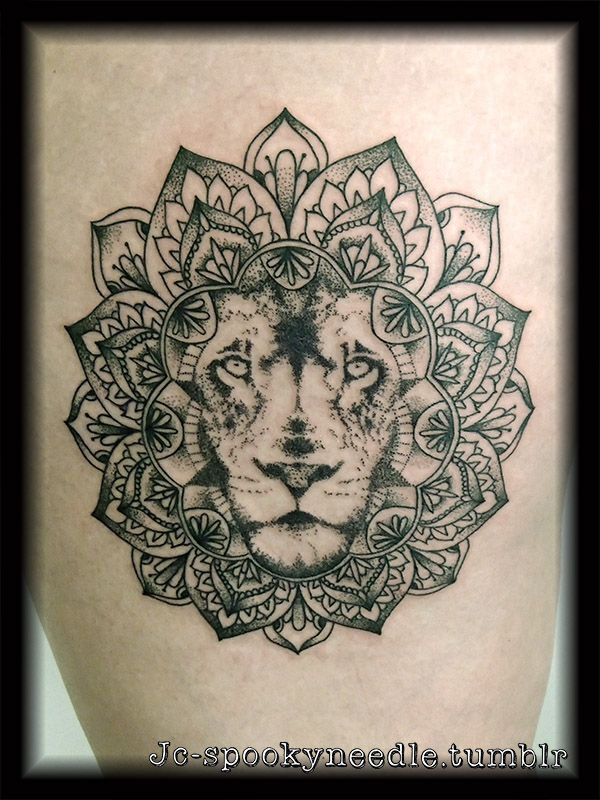 lion in mandala google search what if i inked pinterest lions and tattoo. Black Bedroom Furniture Sets. Home Design Ideas