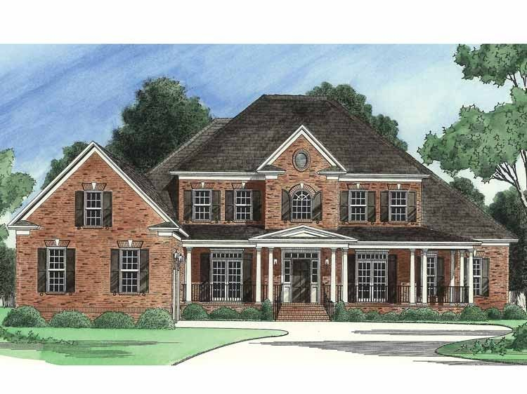 Eplans Country House Plan   Country Dream House   4140 Square Feet     Eplans Country House Plan   Country Dream House   4140 Square Feet and 6  Bedrooms s  from Eplans   House Plan Code HWEPL13946
