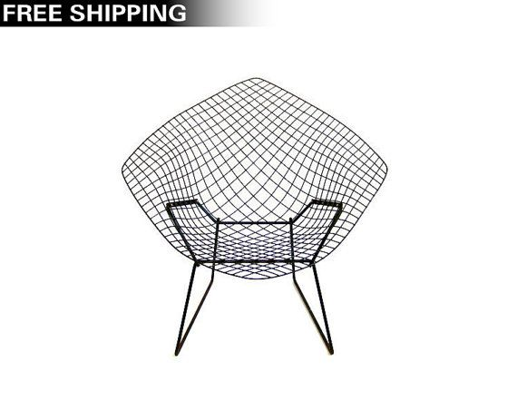 1952 Mid Century Modern Diamond Chair By Harry Bertoia For Knoll.