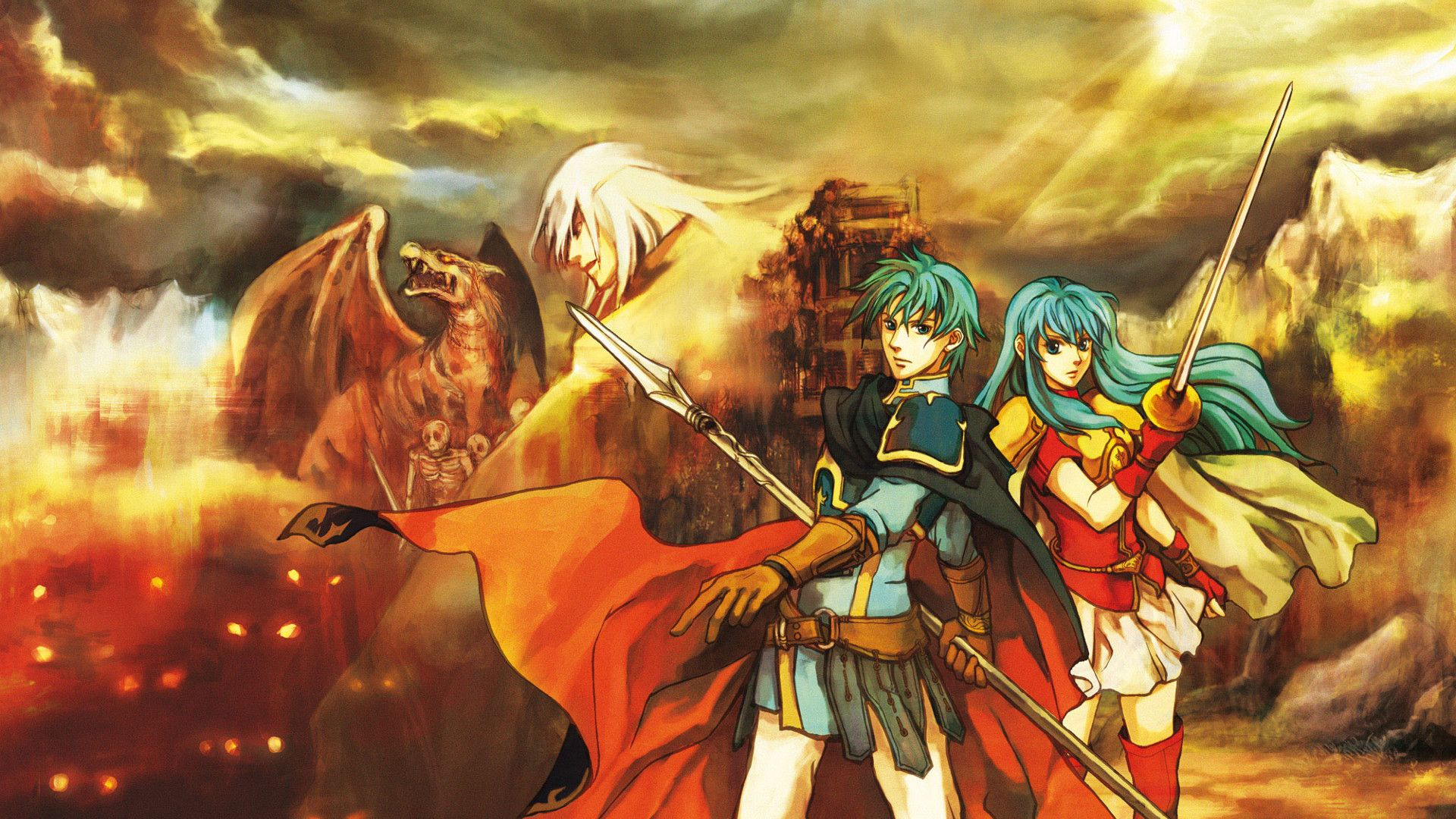 Fire Emblem Sacred Stones Wallpaper Widescreen Fgc Fire Emblem