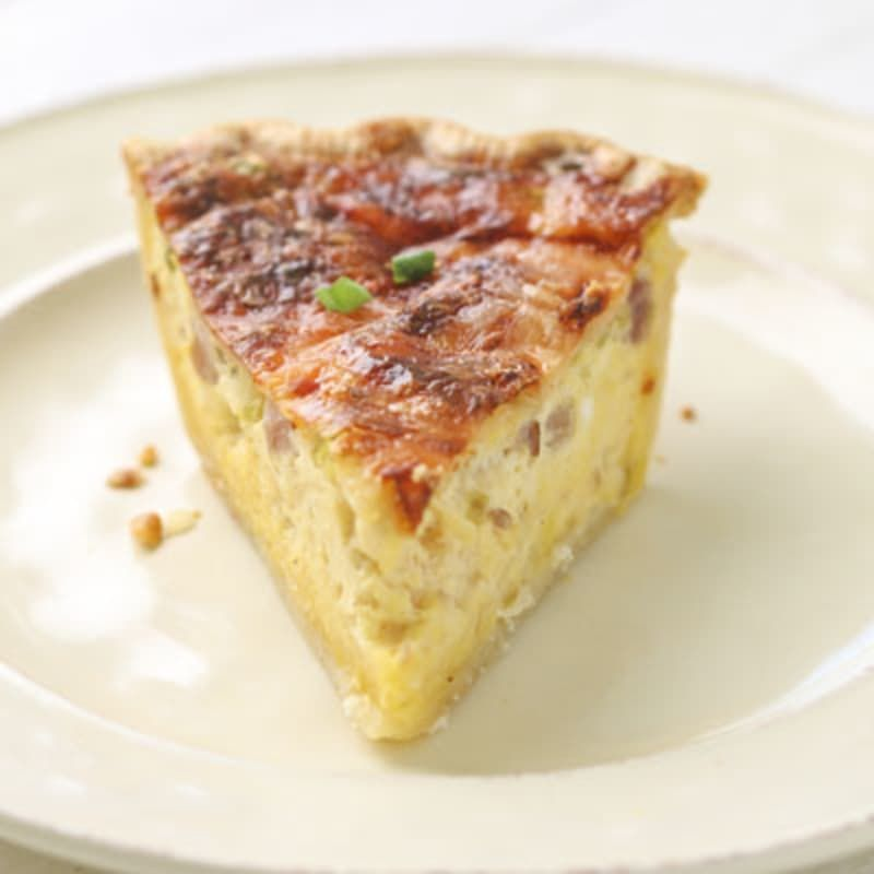 Carnation Quiche Lorraine Nestle Very Best Baking Ham And Swiss Quiche Quiche Recipes Milk Recipes