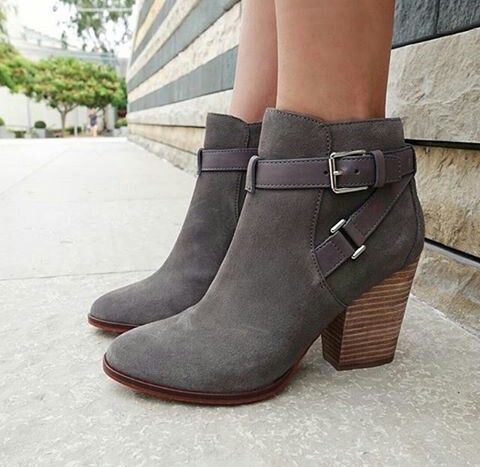 aeaa0098303c1 Gift  Black and or Brown Heeled Ankle Booties!