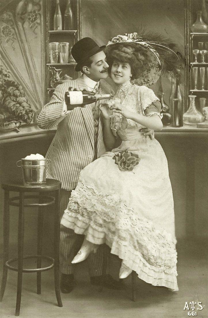 Cute Vintage Couple