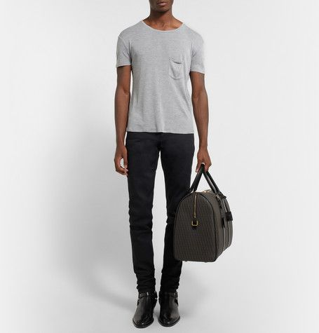 Saint LaurentSilk-Jersey T-shirt