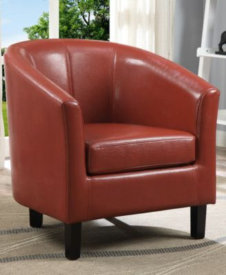westbrook faux leather tub chair quick ship products rh pinterest com au