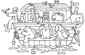 Image Result For Coloring Pages For Kids Noah S Ark Bible