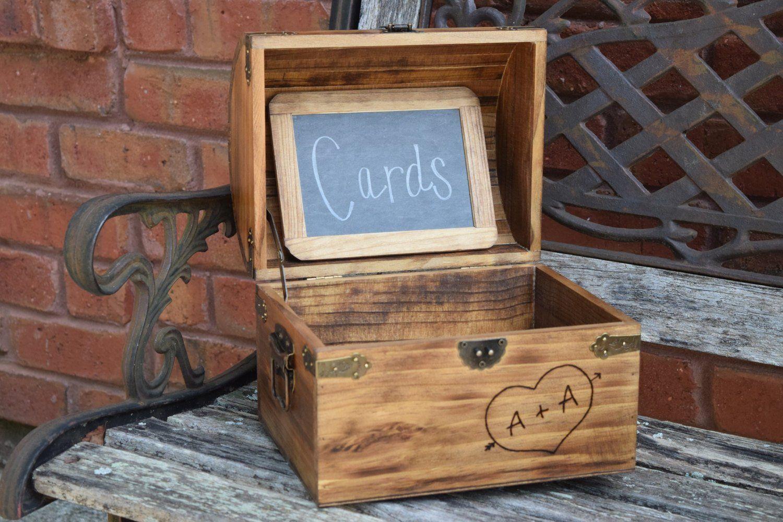 wood wedding card holders%0A Medium      x     x      Wedding Card Box  Shabby Chic Wedding