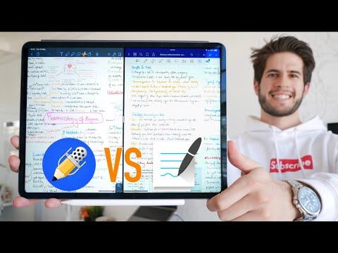 Notability vs Goodnotes 5 The Best iPad Note Taking App