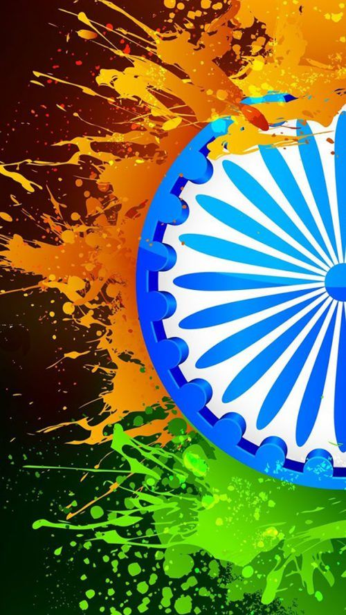 National Flag Images For Whatsapp 04 Of 10 With India Republic Day Wallpaper National Flag India India Flag Indian Flag Wallpaper