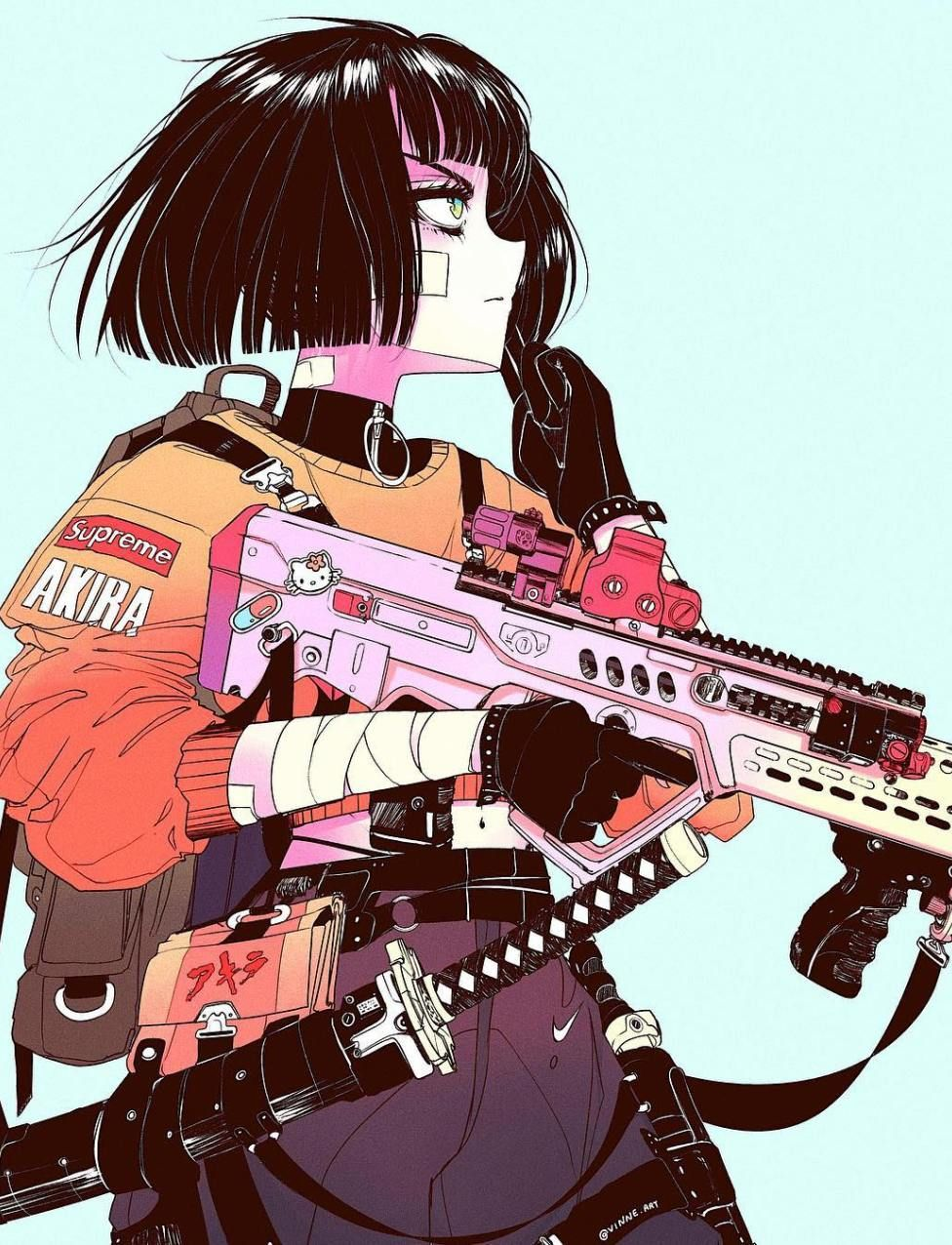 Cyberpunk Wonderland, a look at Vinne Myartmagazine in