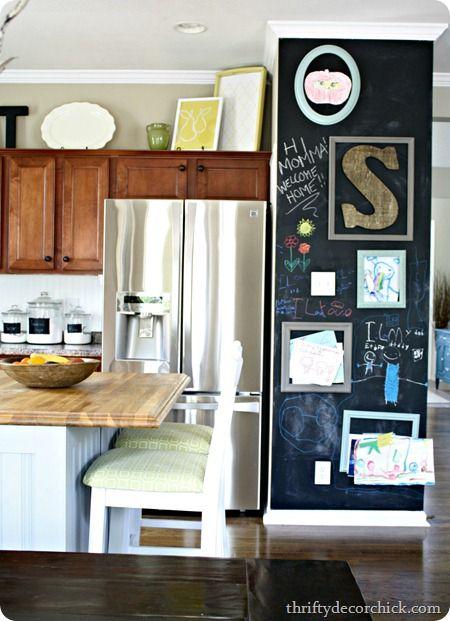chalkboard in kitchen home ideas kitchen pinterest kitchen rh pinterest com