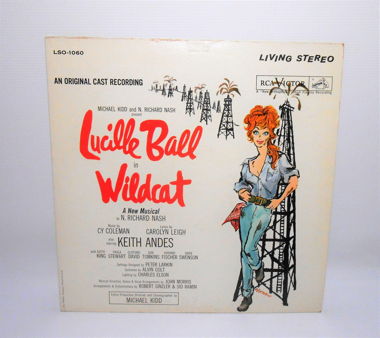 Lucille Ball Wildcat Vintage Vinyl Album Soundtrack