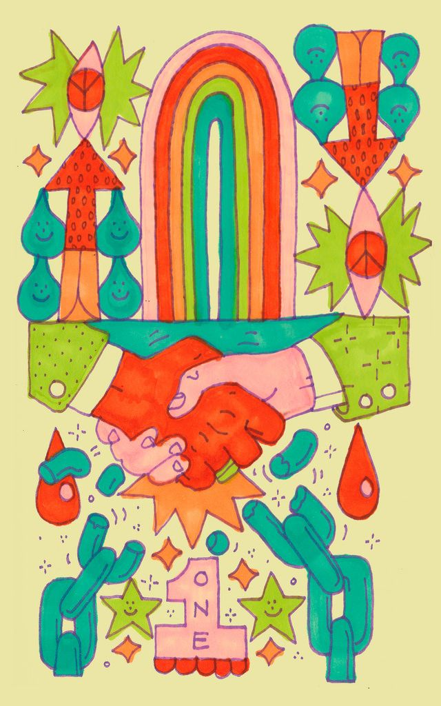 jeremy pettis Psychedelic illustration, Illustration