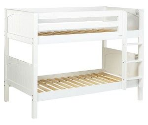 Maxtrix Low Bunk Bed W Straight Ladder Twin Twin Kids Room