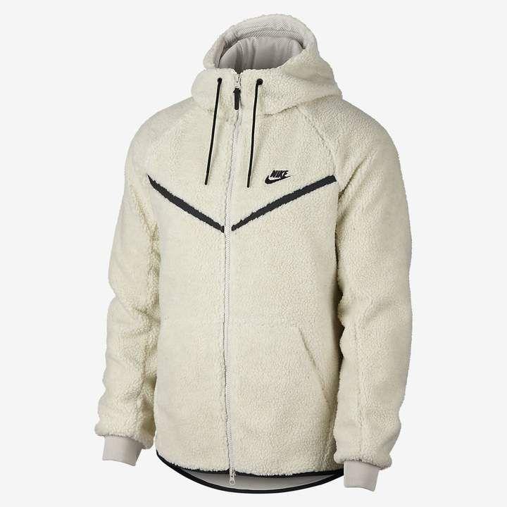 7576d8281 Nike Sportswear Windrunner Tech Fleece Men's Sherpa Hoodie ...