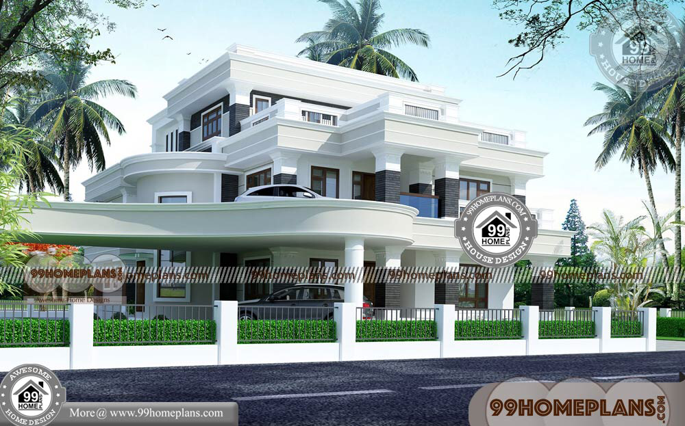 Modern 3 Storey House Plans With New Model Contemporary House Having 3 Floor 7 Total Bedroom Flat Roof House Designs Contemporary House Design 3 Storey House