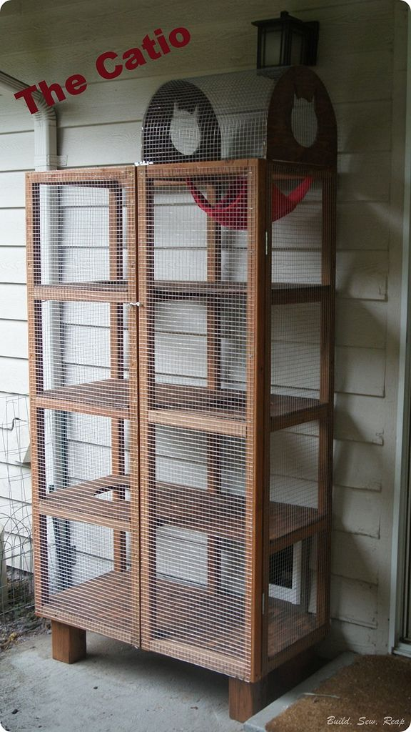 building a backyard catio cats catio cats cat enclosure rh pinterest com
