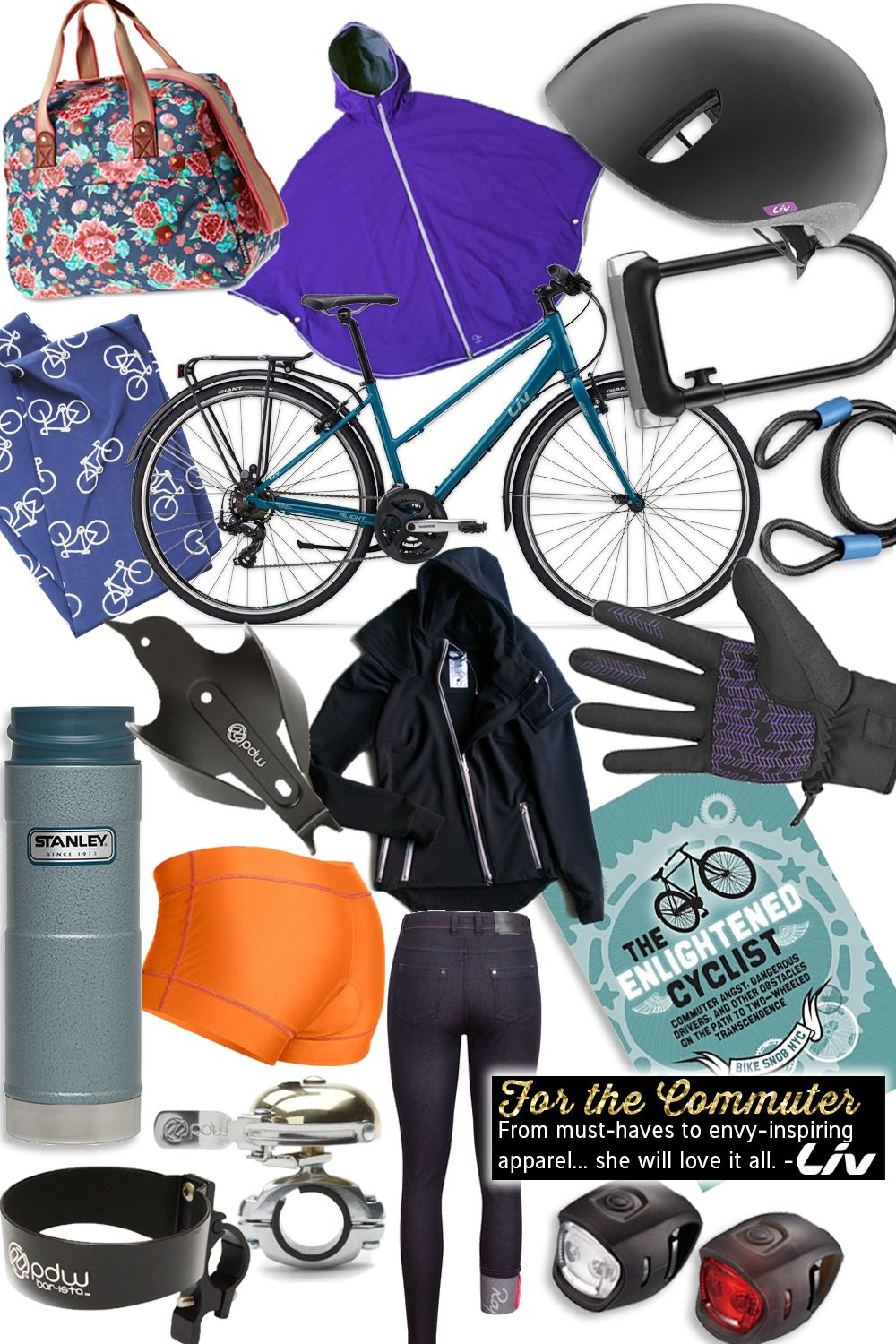 Gift Guide For The Bike Commuter Best Bike Gifts Liv Cycling