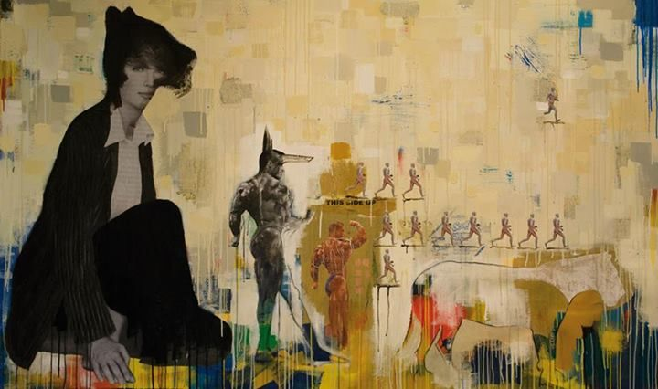 The #Egyptian mixed-media artist Khalef Hafez concentrates primarily on the construction of certain categories and the overlaps between them.
