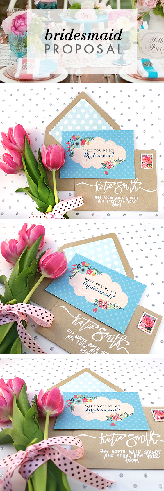 Turquoise Will You Be my Bridesmaid Card will make your bridesmaids say YES!