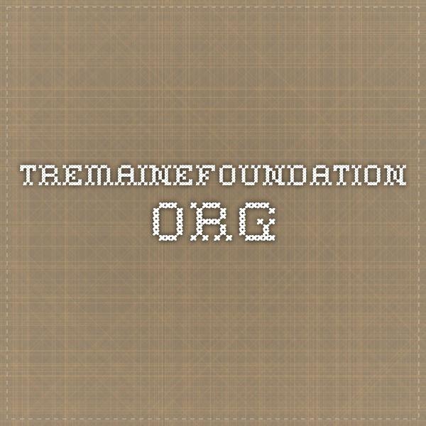 tremainefoundation.org