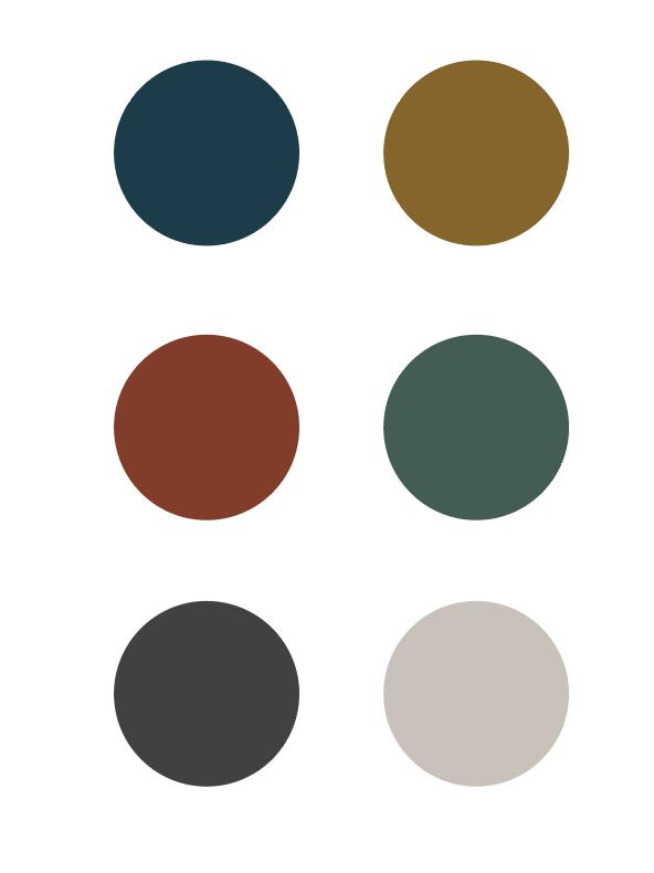Recent Design Trends Color Lara J Designs Color Palette