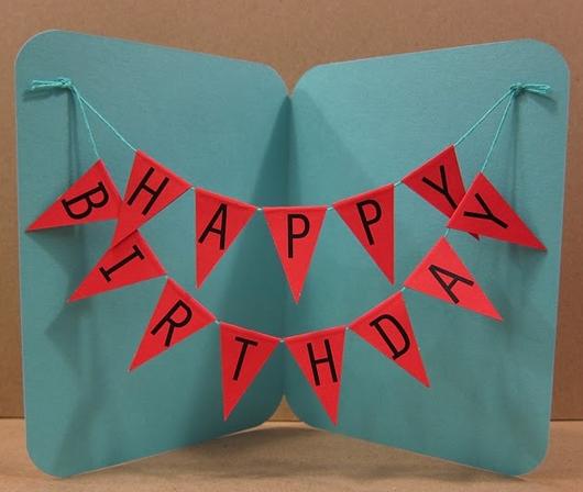 Bevorzugt Carte d'anniversaire à faire soi même | Cartes d'anniversaire  YB65