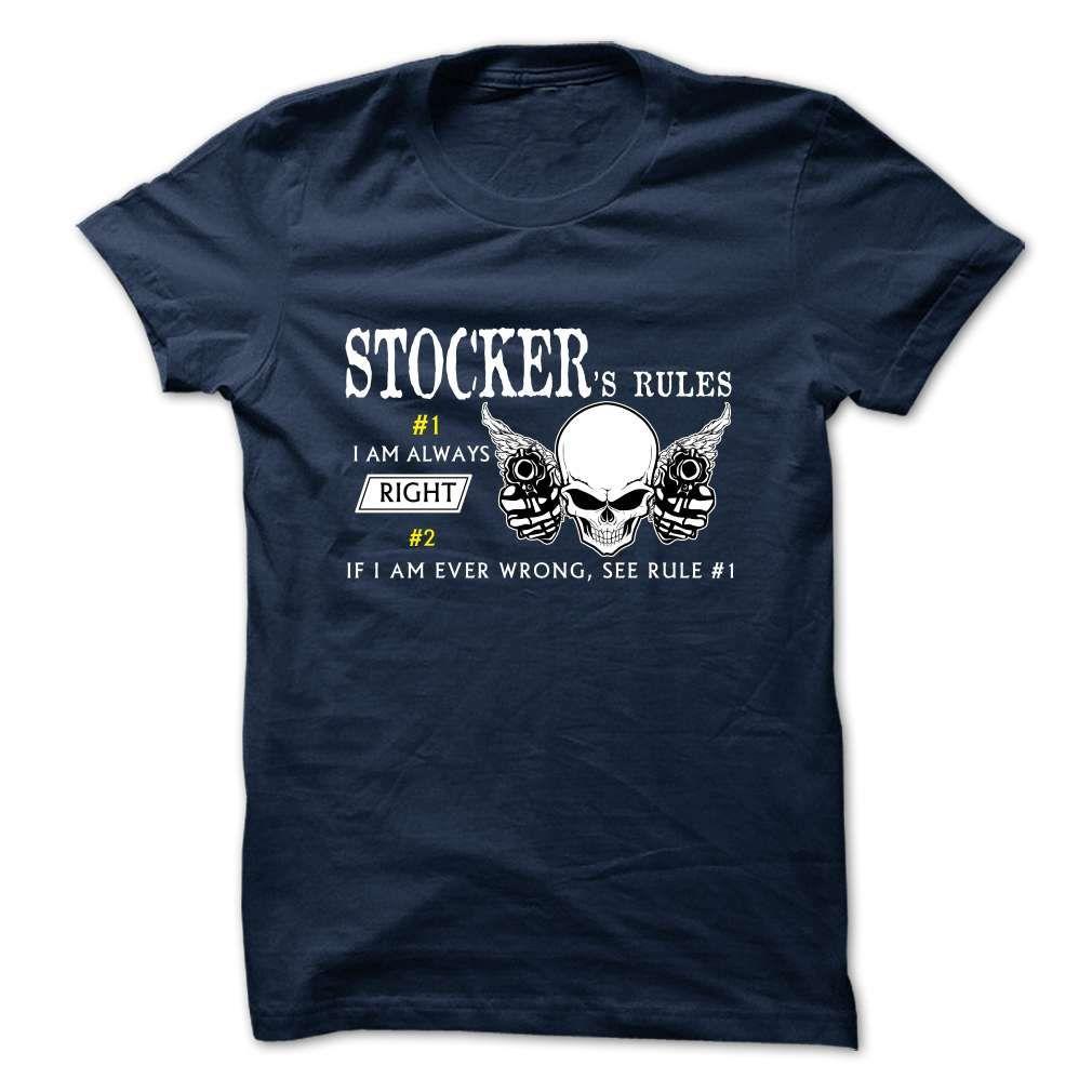 STOCKER Rule Team T-Shirts, Hoodies. VIEW DETAIL ==► Funny Tee Shirts