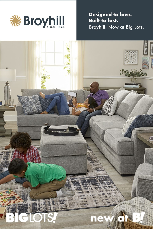 New at Big Lots! Broyhill furniture, Living room color