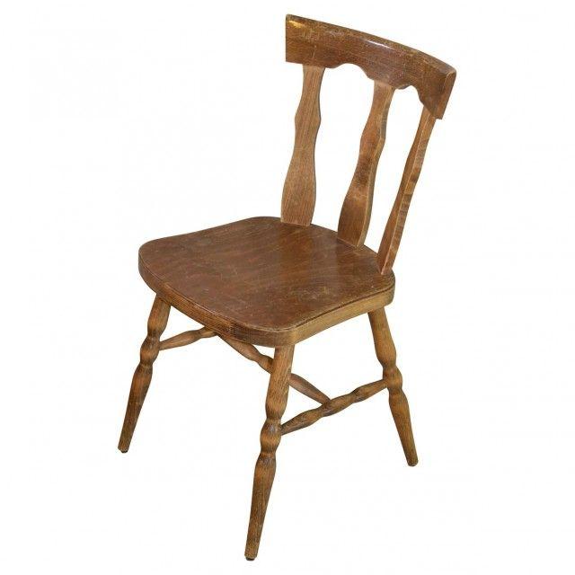 chaise bois ranch o bonheur des