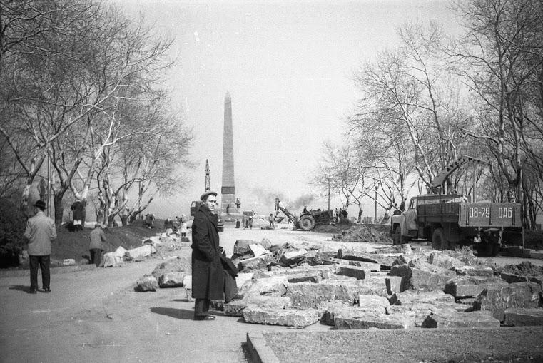 Одесса 1950 — 1970-х: Аллея Славы, порт, стадион, Горсад ...