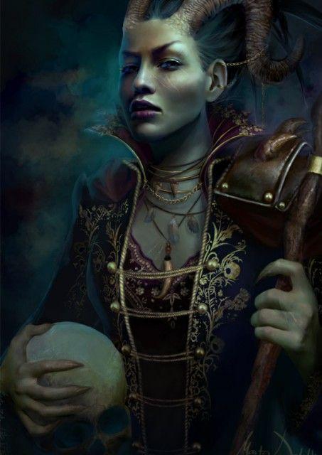 Annalai, CN Half-Dragon from the ' Blackwater Chronicles' (Forgotten Realms)