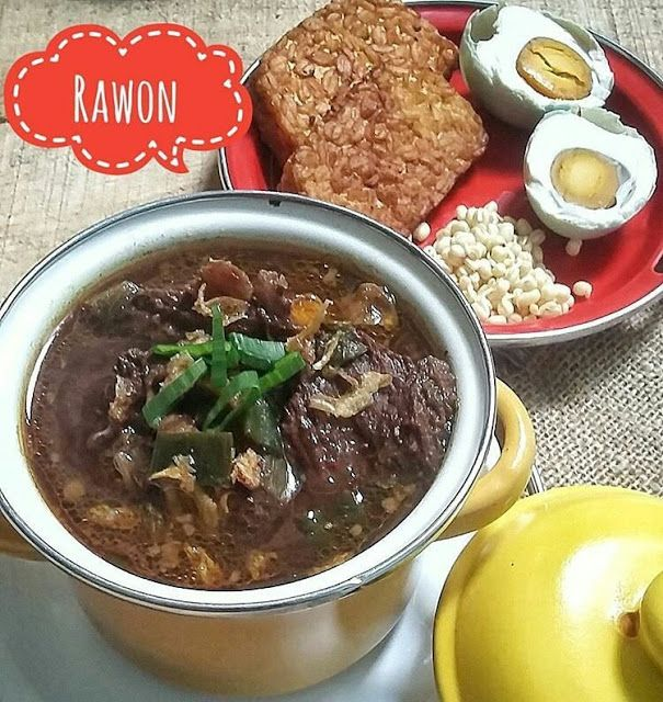 Resep Rawon Gurih Ala Rumahan Pernah Hits Food Asian Kitchen Favorite Recipes