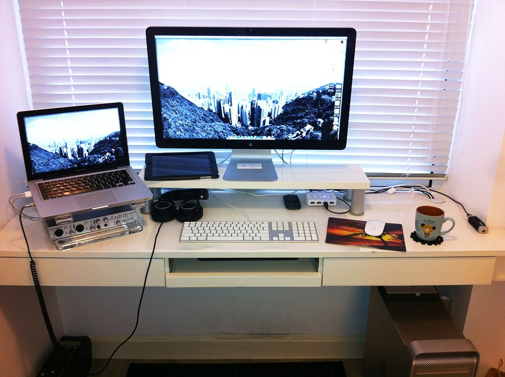 Uitzonderlijk Apple style monitor shelf | DIY Stuff & More | Pinterest | Ikea &KS86