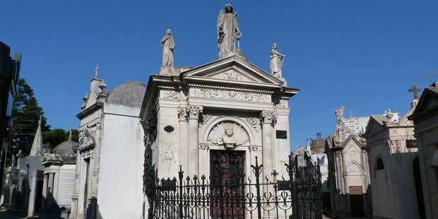 Recoleta cemetery in Buenos Aires, Argentina, is the resting place of Eva Peron. Photo / Megan Singleton