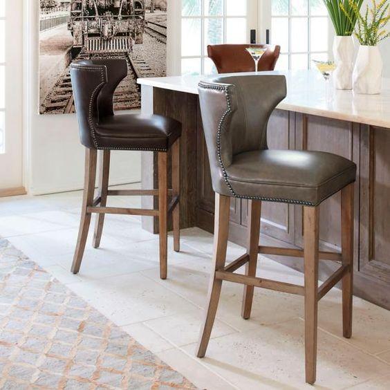 meredith bar  counter stool  home bar decor kitchen
