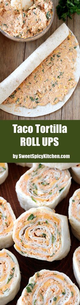 Taco Tortilla Roll Ups